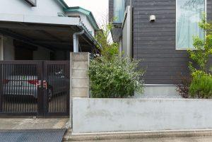 K氏邸 スロープ・階段・門扉の新設(施工前)1